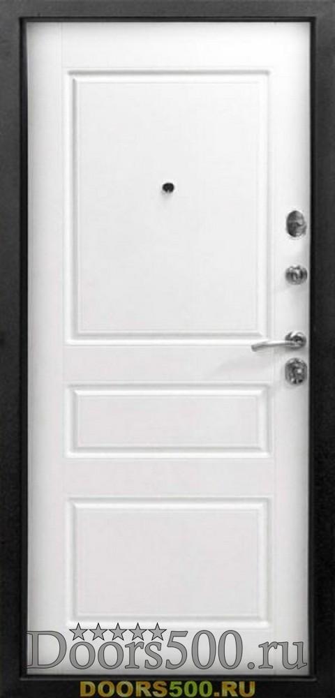 двери входные металлические белая эмаль