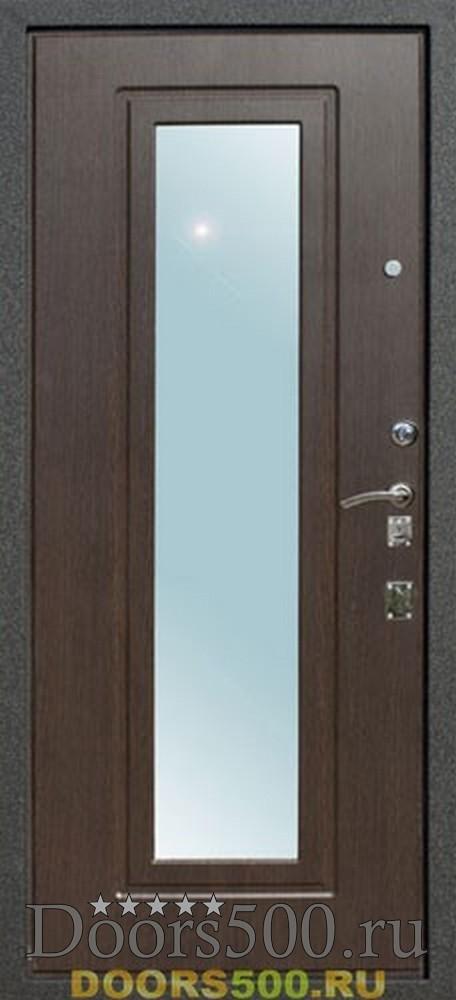 стальная дверь отделка венге